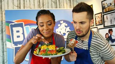 Blue Peter - Veg, sardines, jelly – what's not to love?