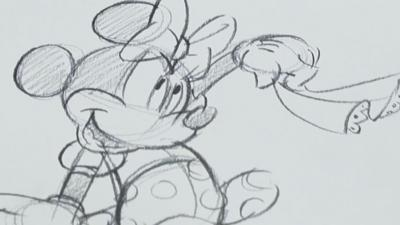 Blue Peter - How to draw Minnie Mouse