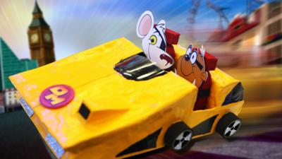 Blue Peter - How to make Danger Mouse's car