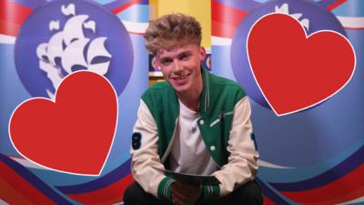 Blue Peter - HRVY reads out cringey chat-up lines!