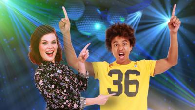 Blue Peter - Invent a dance move for Lindsey and Radzi