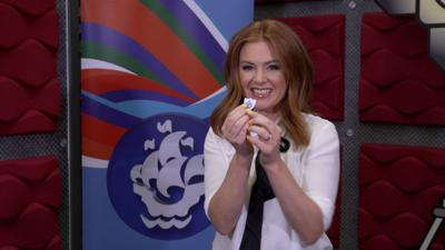 Blue Peter - Author Isla Fisher pops in