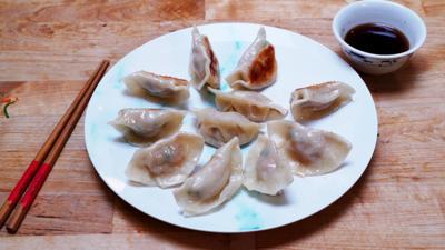 Blue Peter - Jeremy Pang's pan-fried gyoza