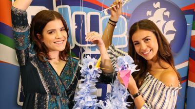 Blue Peter - Jo and Britt's epic puppet FAIL