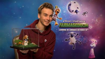 Blue Peter - Joe Sugg chats Shaun the Sheep