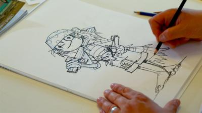 Blue Peter - Learn how to draw Jim Lad