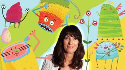 Blue Peter - Make a monster with Liz Pichon