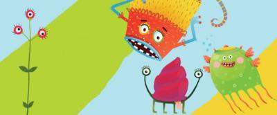 Illustrated monsters and Liz Pichonliz pichon