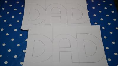 Make: Zig-zag Father's Day card - CBBC - BBC