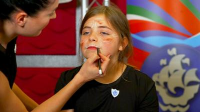 Blue Peter - World Book Day make-up tutorials