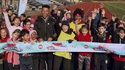 Blue Peter - 11 EPIC moments from the Mega Mileathon