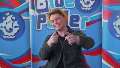 Blue Peter - Michael Rice shares his dream Eurovision