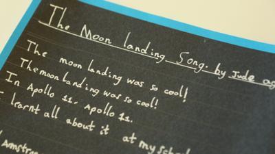 Blue Peter - Post of the Week: Moon landing song