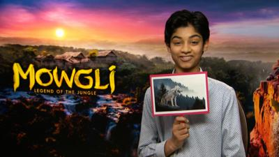 Blue Peter - BP challenge the cast of Mowgli!