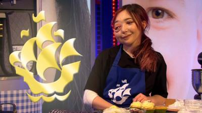 Blue Peter - Nikki Lilly gets her Gold badge
