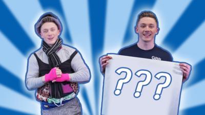 Blue Peter - We challenge gymnast Nile Wilson
