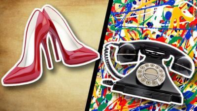 Blue Peter - Are high heels older than the telephone?
