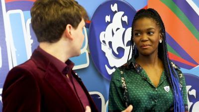 Blue Peter - Oti Mabuse's dance challenge