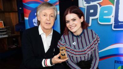 Blue Peter - Sir Paul McCartney receives Gold Badge