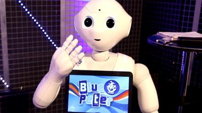 Blue Peter - Interview with a robot