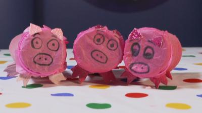 Blue Peter - Make Your Own Pig Confetti Cannon!
