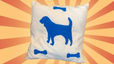 Blue Peter - Post of the Week: Comfy Henry Pillow