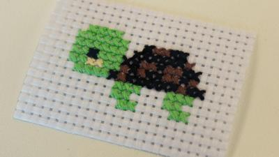 Blue Peter - Post of the Week: Cross Stitch Shelley