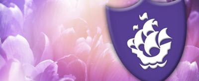 Blue Peter Purple Badge