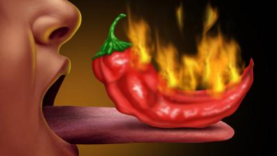 Blue Peter - How spicy can you handle your food?