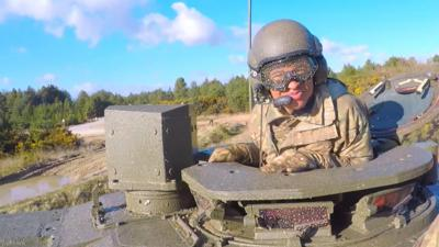 Blue Peter - Radzi commands a tank