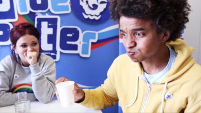 Blue Peter - Blue Peter vs Jelly Beans