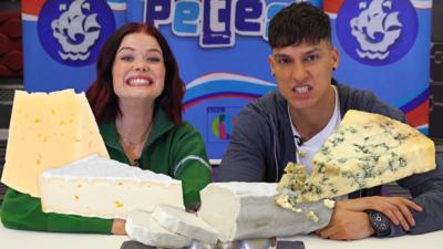 Blue Peter - How cheesy is that cheese?