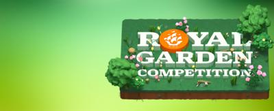 Royal garden competition