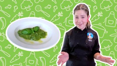 Blue Peter - Sienna's perfect pesto recipe