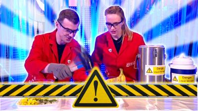 Blue Peter - Smashing science... with a mallet!