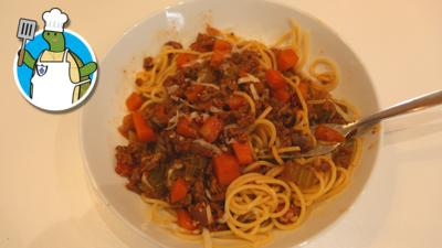 Blue Peter - How to make spaghetti Bolognese