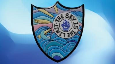 Blue Peter Sport badge 2021