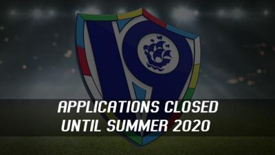 Application closed until summer 2020.