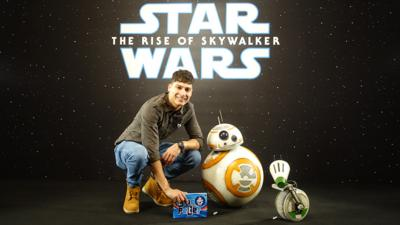 Blue Peter - Richie meets Star Wars cast