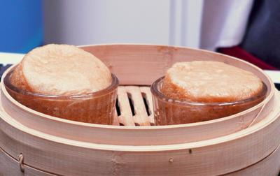 Blue Peter - Jeremy Pang's Chinese steamed sponge cakes