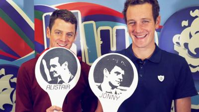 Blue Peter - The Brownlee brothers play Most Likely To