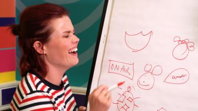 Blue Peter - The Speed Drawing Challenge