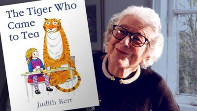 """Blue Peter - The true story behind """"The Tiger Who Came to Tea"""""""