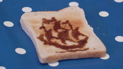 Blue Peter - How to make toast art