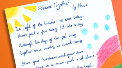 Blue Peter - Post of the Week: Inspirational poem