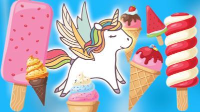 Blue Peter - Make your own unicorn ice cream