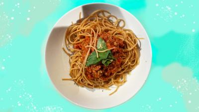 Blue Peter - Super Meaty (Vegan) Spag Bol