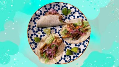 Blue Peter - Vegan Tex Mex Tacos