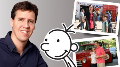 Blue Peter - Jeff Kinney: New Wimpy Kid film