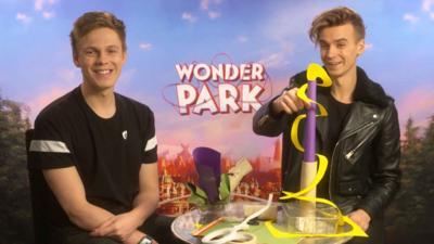 Blue Peter - BP meet the cast of Wonder Park